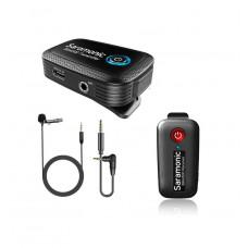 Двухканальная беспроводная микрофонная система Saramonic Blink500 B1 (TX + RX)